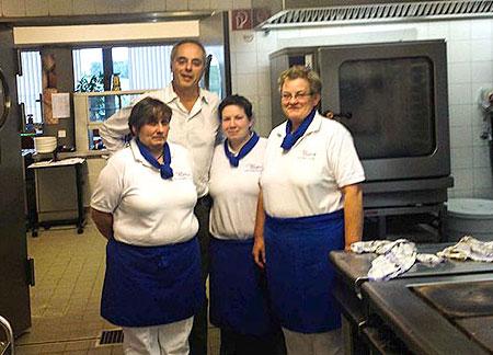 Christian Rach zu Besuch bei Catering feelgood